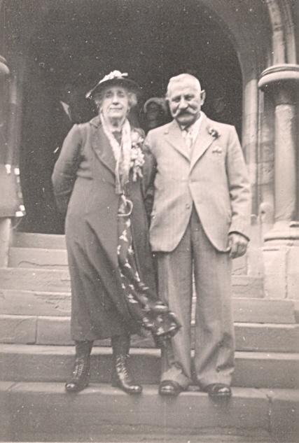 5 Great grandparents William and Emily Westcott