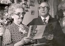 50 Mabel and Harry meaker golden wedding june 1968