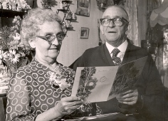 50 Mabel and Harry meaker golden wedding june 1968