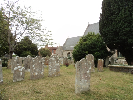 Churchyard of Alverstoke Parish church