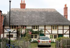 Old houses at Alverstoke