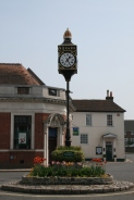The Clock at Bishops Waltham