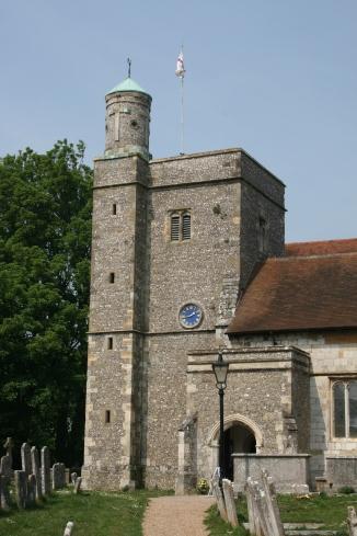 Bishops Waltham church