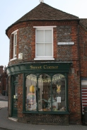 Sweet shop on the High Street at Bishops Waltham