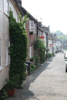 Old houses at Bishops Waltham