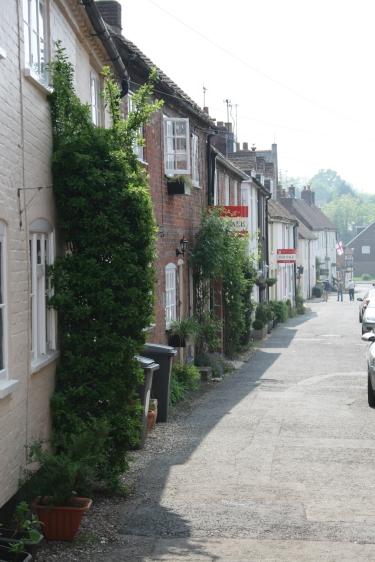 Old houses at Bishops Waltham