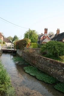 River in Cheriton