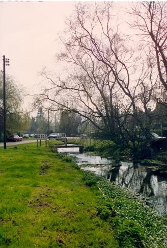 Cheriton Village green in 1992