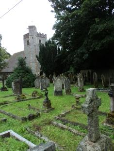 Churchyard at Droxford