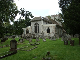 Droxford churchyard