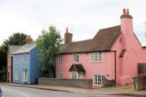 Old houses at Droxford