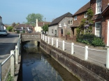 River at East Meon