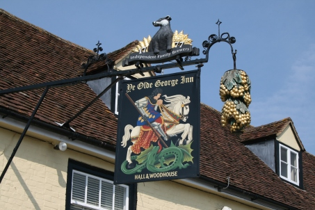 Old George Inn at East Meon
