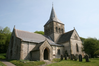 Parish Church of All Saints at East Meon