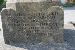 War Memorial at East Meon