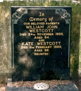 Grave of William and Kate Westcott