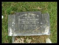 Gravestone of Harry Titheridge in Swanmore churchyard