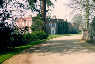 Hinton Ampner Manor House taken in 1992