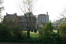 The Manor House opposite Kilmeston Church