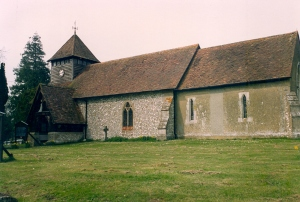 Medstead Parish Church taken April 1992