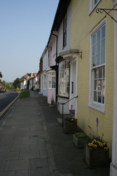 Old houses East Street, New Alresford