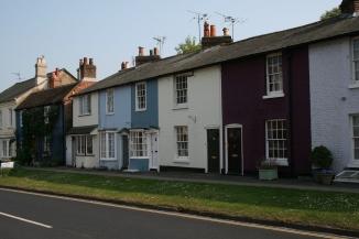 Old houses, East Street, New Alresford