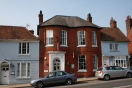 Old buildings, West Street, New Alresford