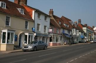 Old shops, West Street, New Alresford