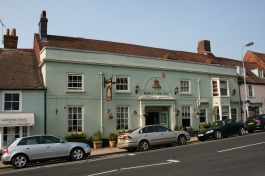 Market Inn (dated 1767) West Street New Alresford