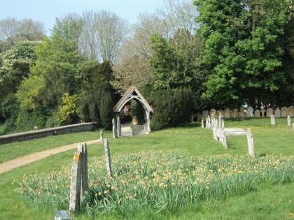 Churchyard at Old Alresford Parish Church