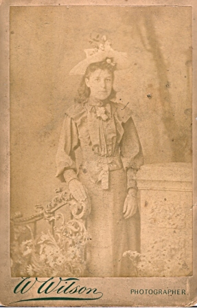 probably rose titheradge (nee moss) 2 from photographs address taken 1891 - 1903