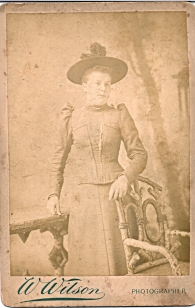 probably rose titheradge (nee moss) 3 from photographs address taken 1891 - 1903