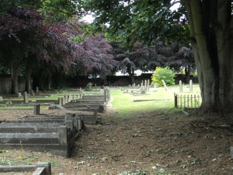Graveyard of Southwick Parish Church