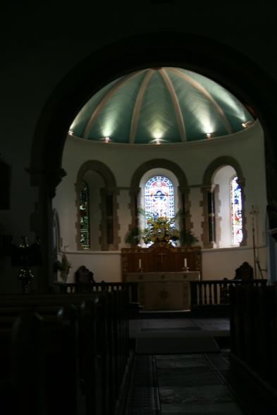 Inside St Barnabas Church Swanmore