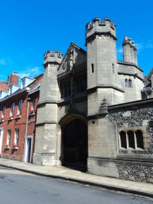Old gates in Winchester
