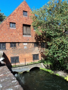 City Mill Winchester on River Itchen