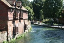 Near City Mill Winchester on River Itchen