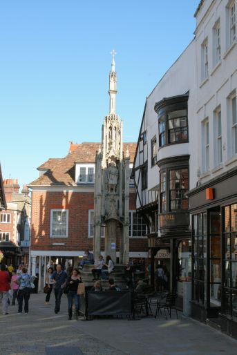 The City Cross High Street Winchester