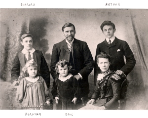 Robert Arthur Titheradge and family about 1901